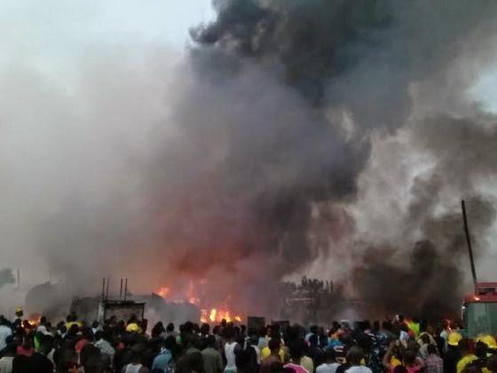 Lagos fire