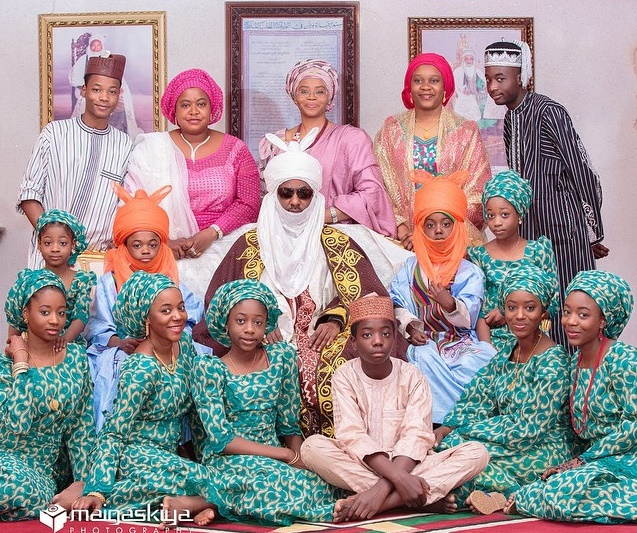 Emir-of-Kano-Sanusi-Family