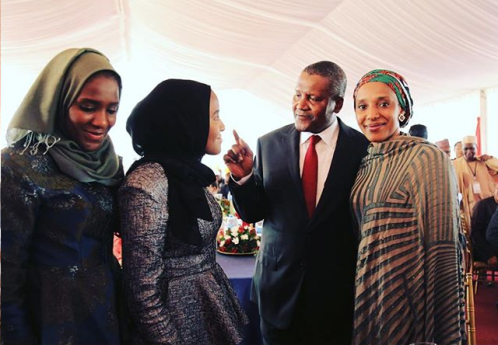photos-dangote-poses-with-his-three-daughters-in-tanzania1