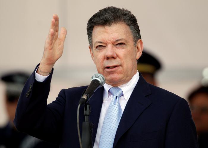 Juan Manuel Santos - Columbia President