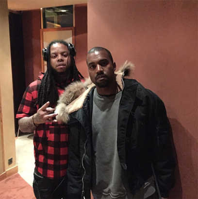 King-Louie-Kanye-West-Studio