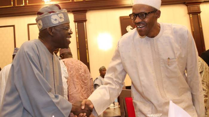 PRESIDENT BUHARI @ TINUBU AT A DINNER 2B