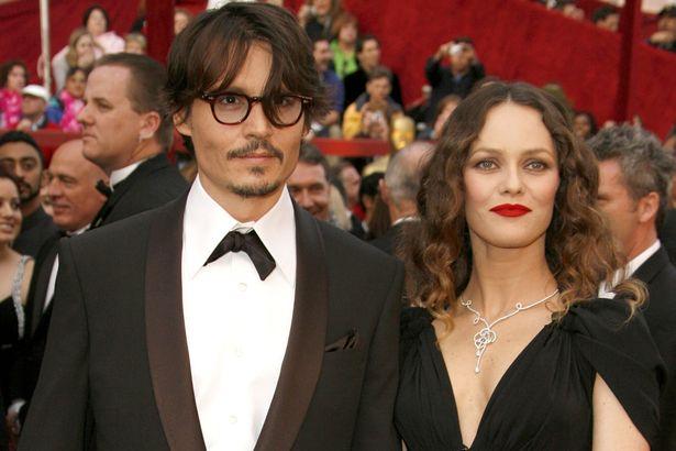 Johnny Depp & Vanessa-Paradis