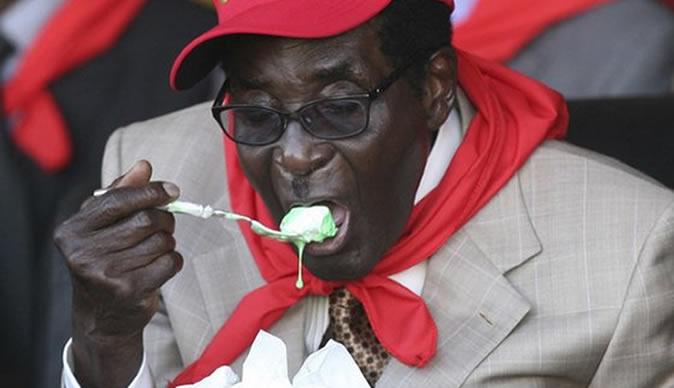 mugabe-eats-ice-cream