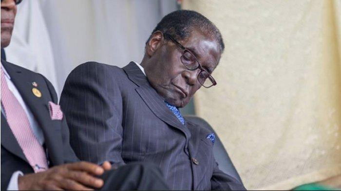 Robert-Mugabe-sleeping-in-Nigeria