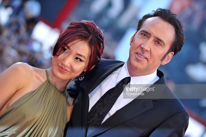 Nicolas Cage and  Alice Kim?