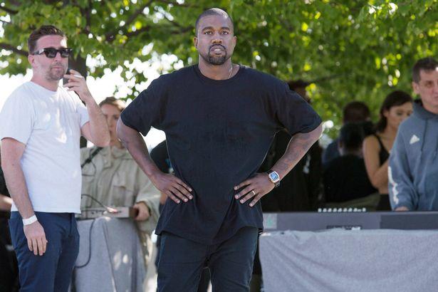 """fbd4ff425 Photos  Models Fainted At Kanye West  Fashion Runway """"Yeezy Fashion ..."""