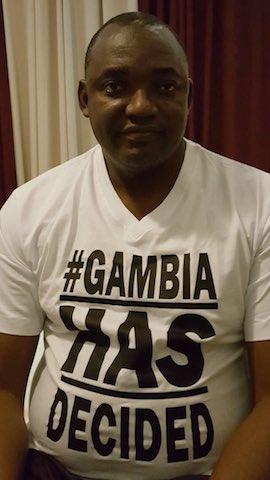 Adama Barrow - Gambia's President elect